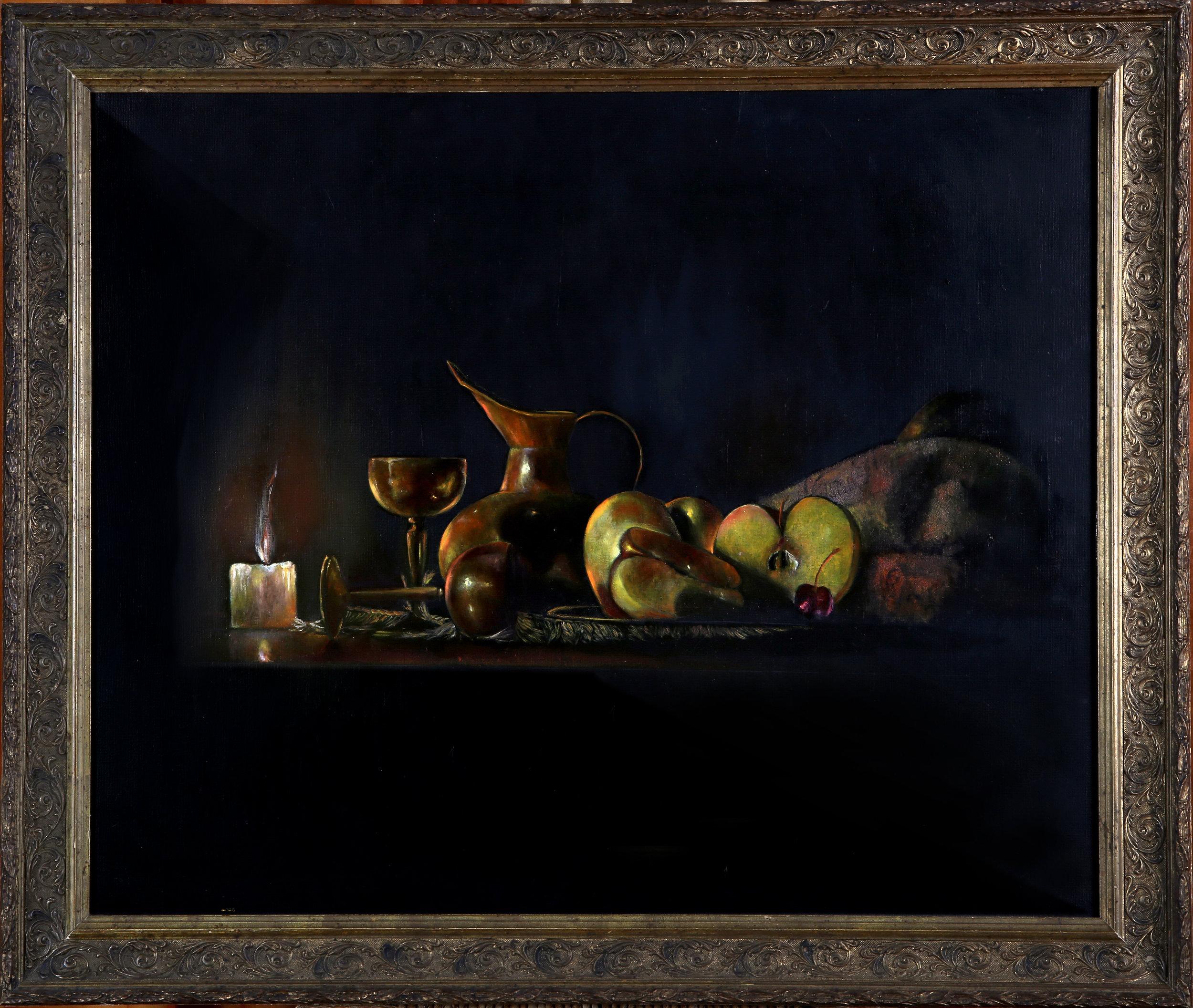NATURE MORTE AU PICHET(61x50) Création