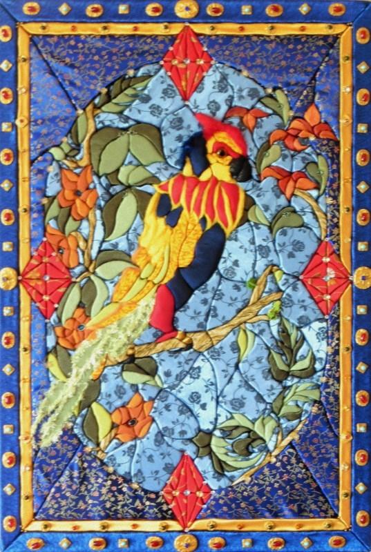 TRIPTYQUE DE FLORENCE (93x63) panneau latéral gauche
