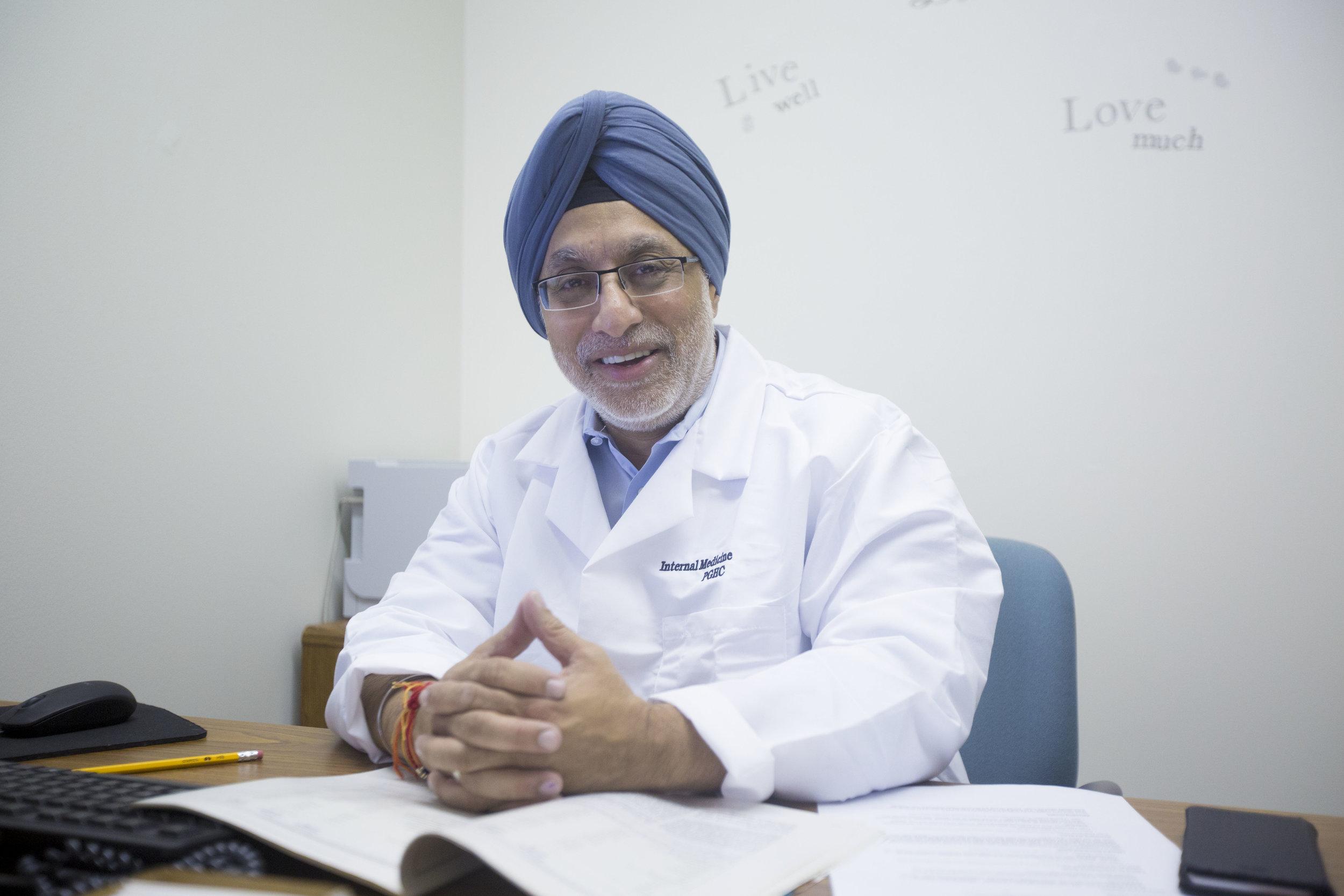 Gurdeep Chhabra, MD, Chair, Dept. of Medicine