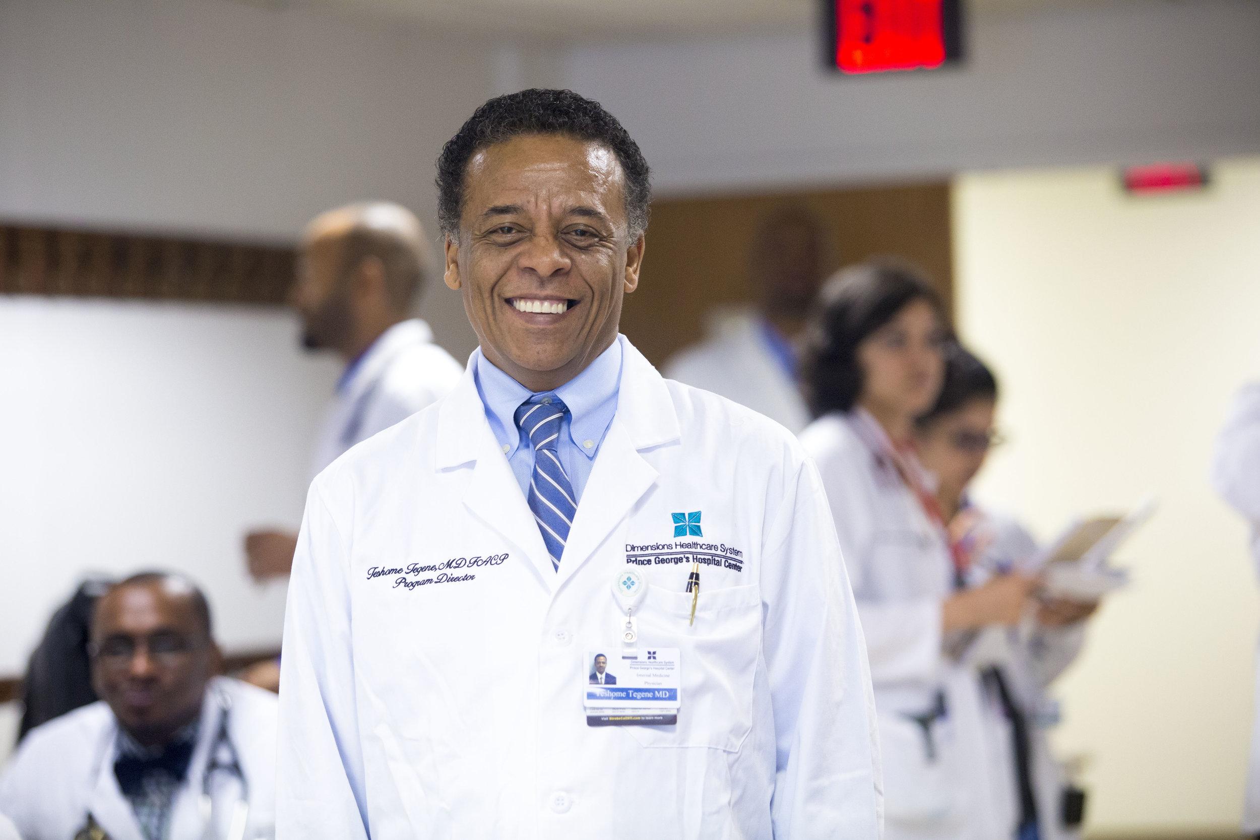 Teshome Tegene, MD, Program Director