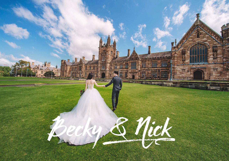 Becky&Nick婚纱写真