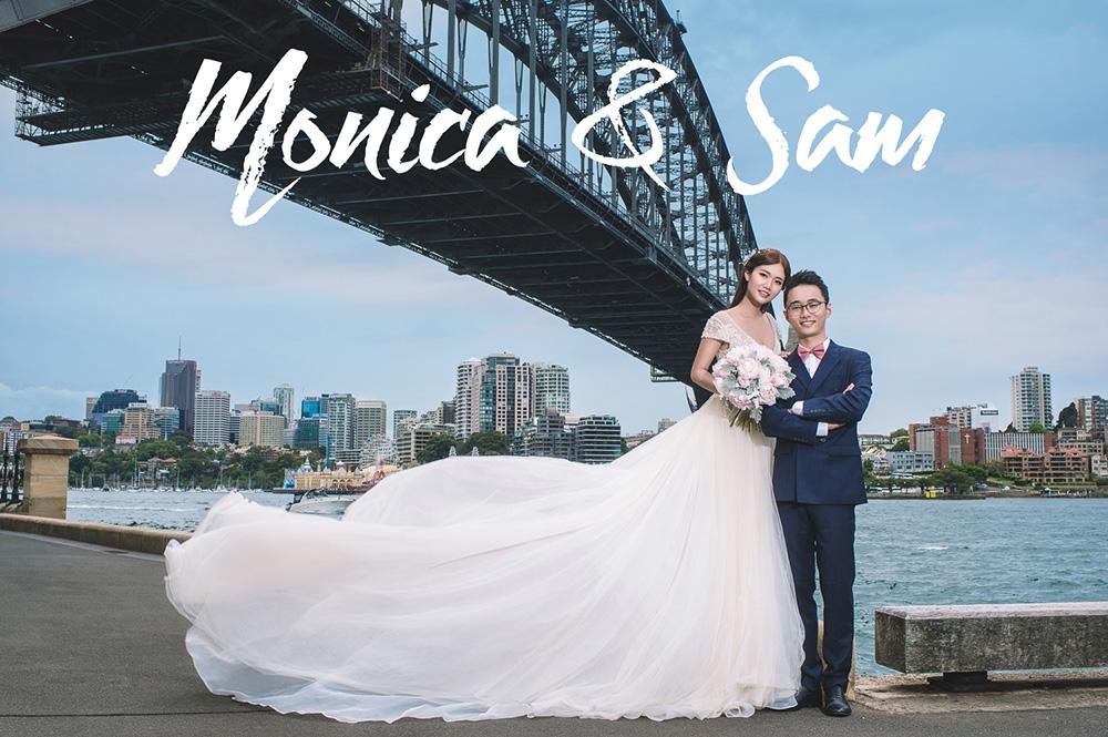 Monica&Sam婚纱写真