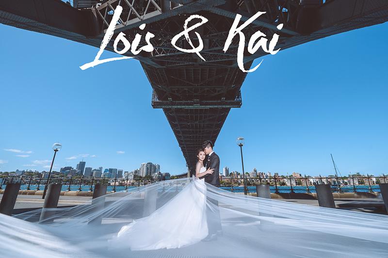 Lois&Kai婚纱写真