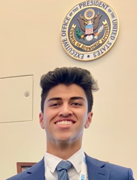 Faeez Juneja   Policy Training Coordinator    Year:  Class of 2022   Majors : Economics and Applied Mathematics   Minor:  Statistics   Policy interests:  International Development, Income Inequality, Technology, and Immigration   If you could take anyone to dinner dead or alive, who would it be?  Abdul Kalam Azad