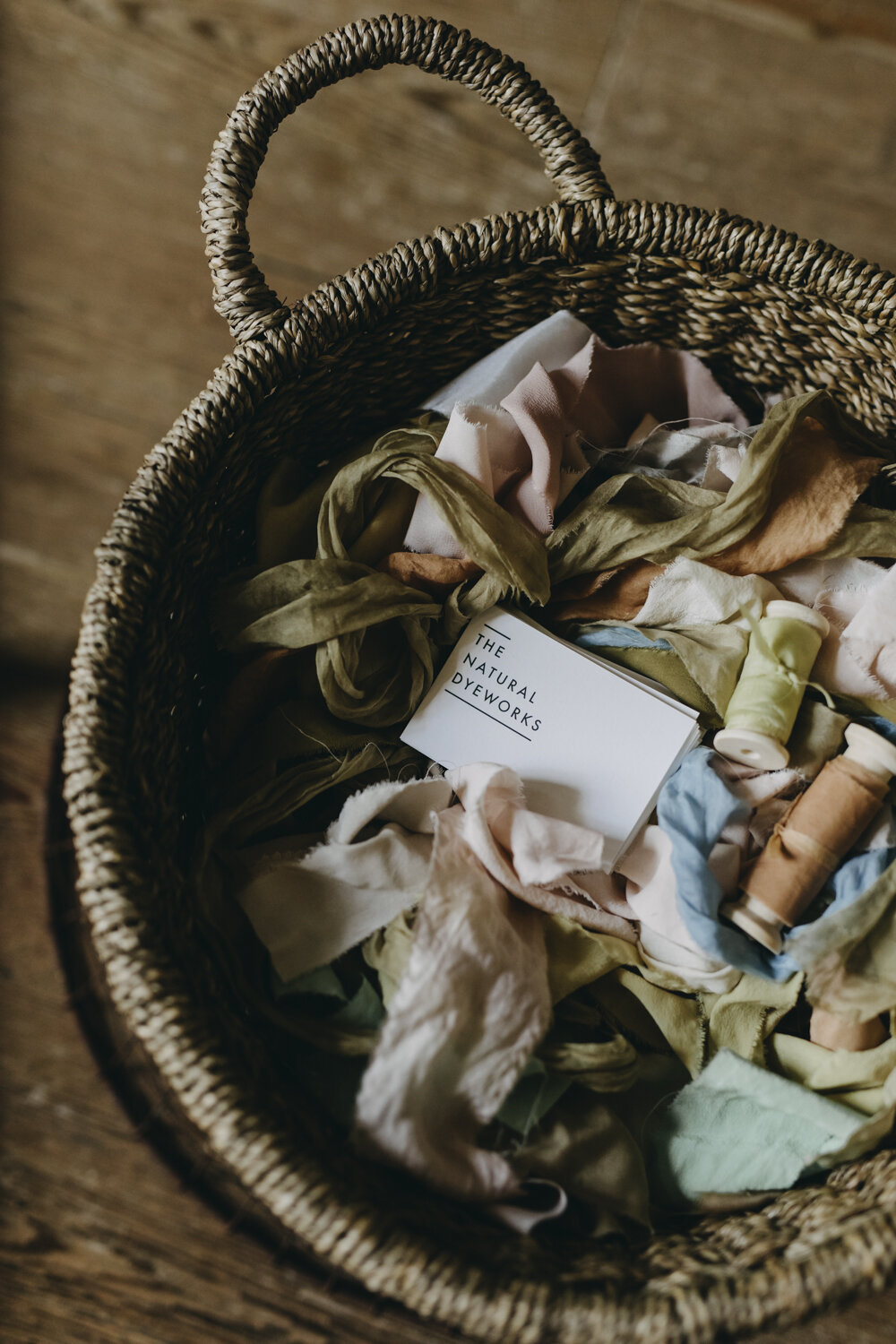 Ribbons by The Natural Dye Works  Photo by Eva Nemeth