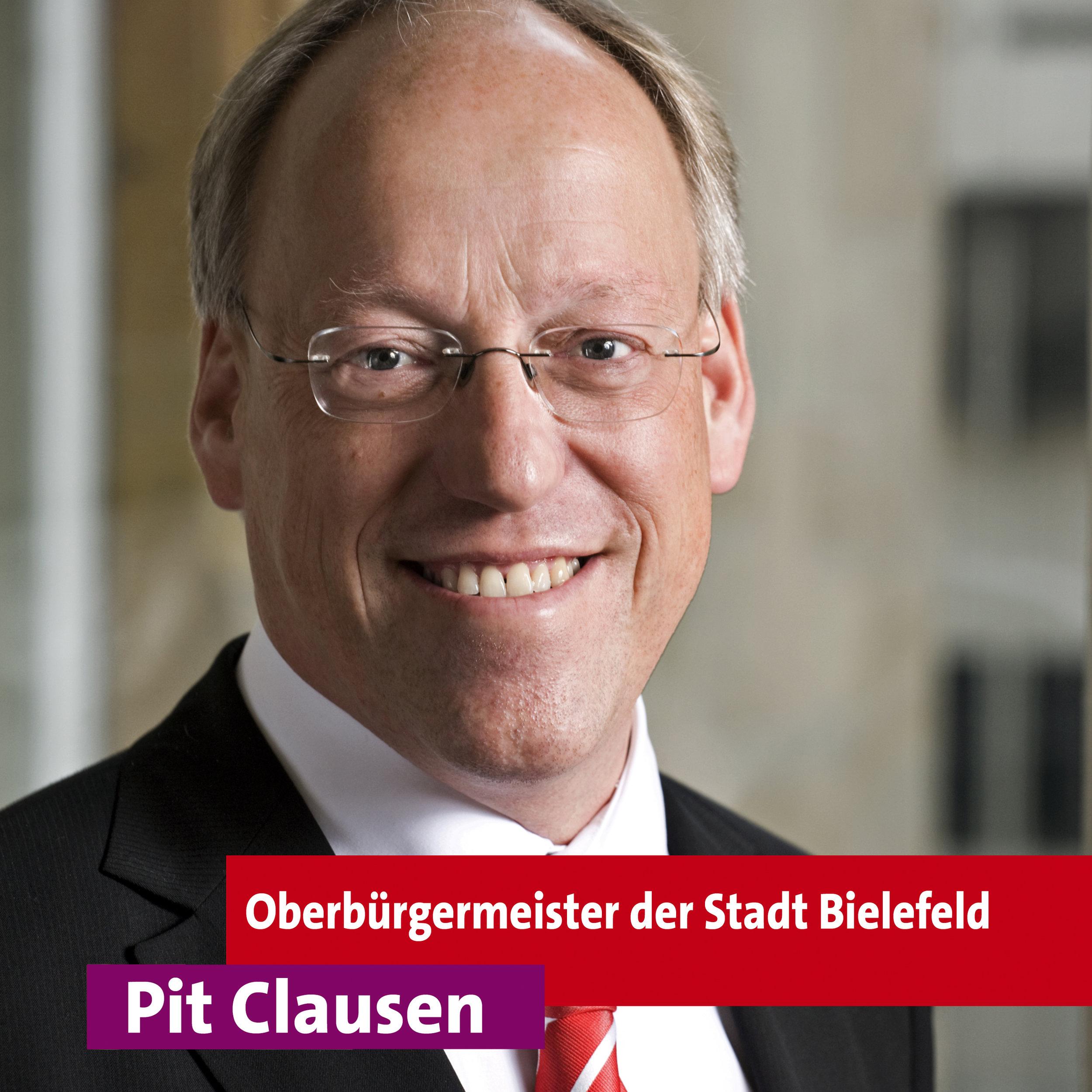 Pit Clausen - Oberbürgermeister