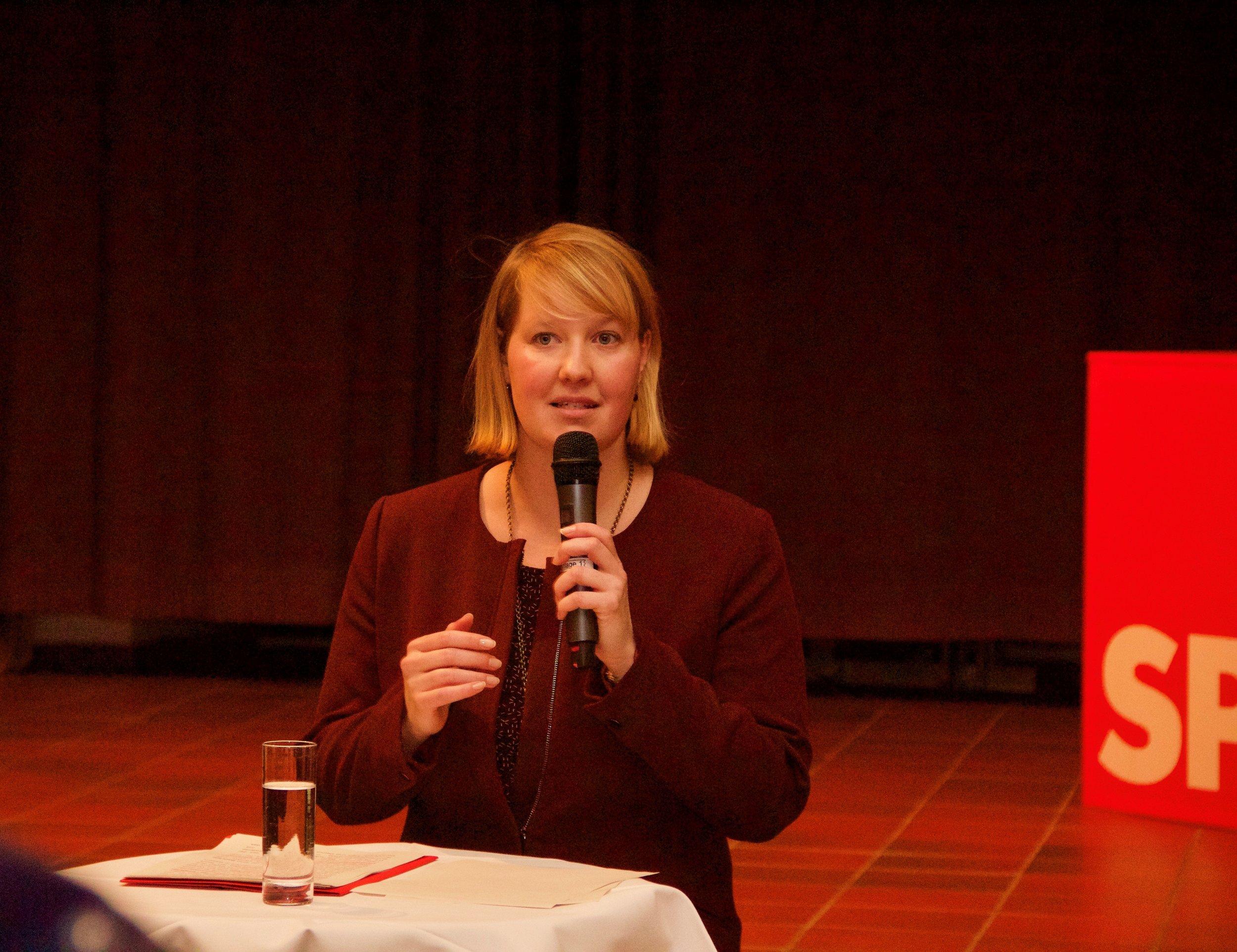 Wiebke Esdar, MdB - Vorsitzende der SPD Bielefeld