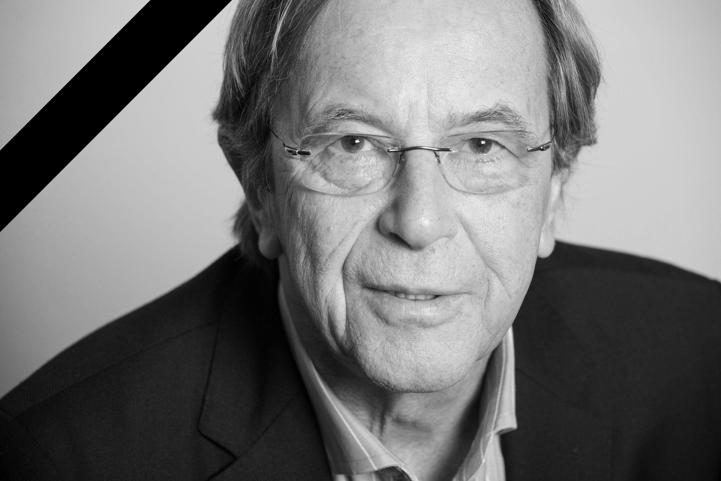 Schwarz-Weiß-Porträt Hans Hamann