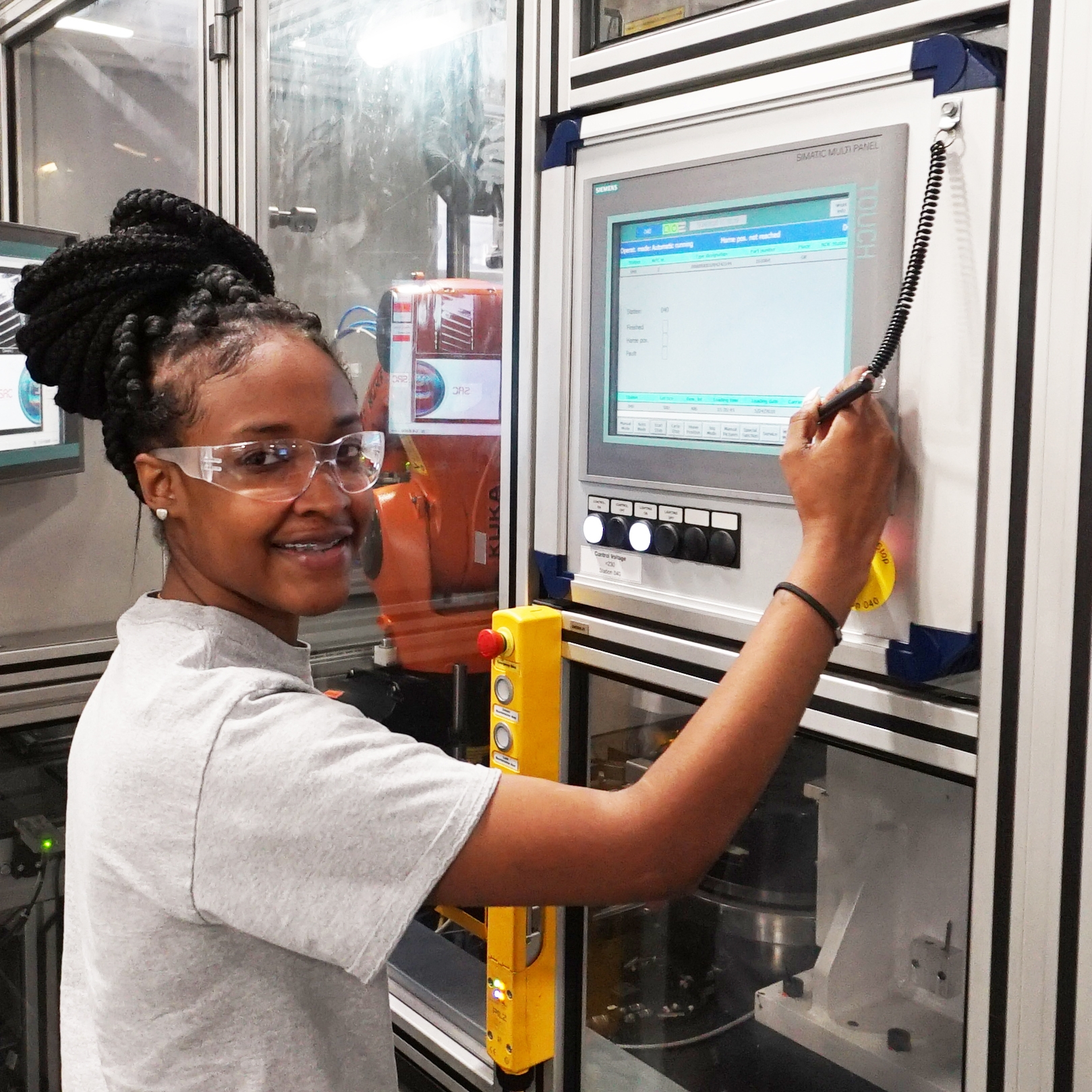 Travisia - Just three years out of high school, Piedmont Tech graduate Travisia Thompson may be earning upwards of $60,000 a year.Let that sink in for a moment.This virtually unheard-of earning potential is quite literally possible.
