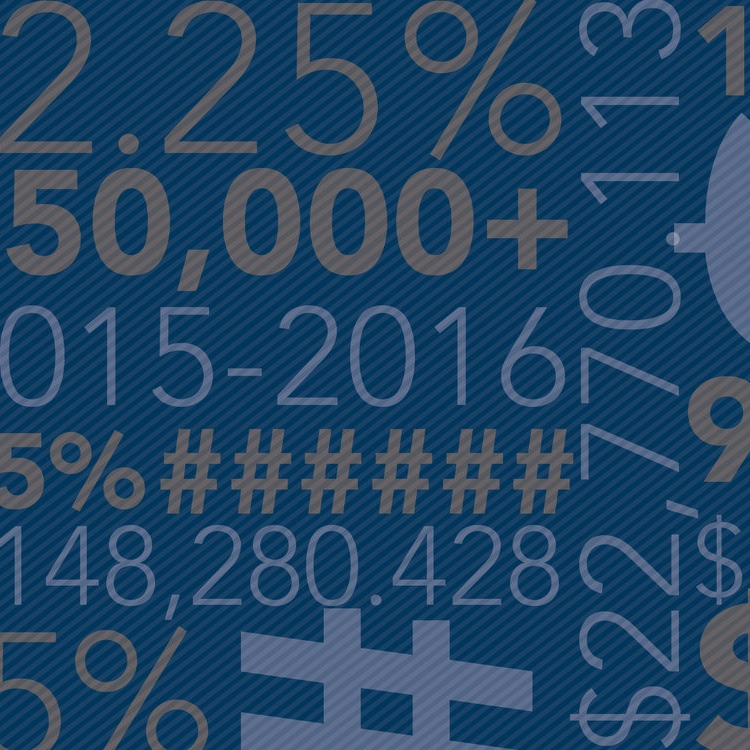 BY THE NUMBERS - Thanks to conservative budgeting and quality day-to-day management, the college posted a healthy Fiscal Year 2018.