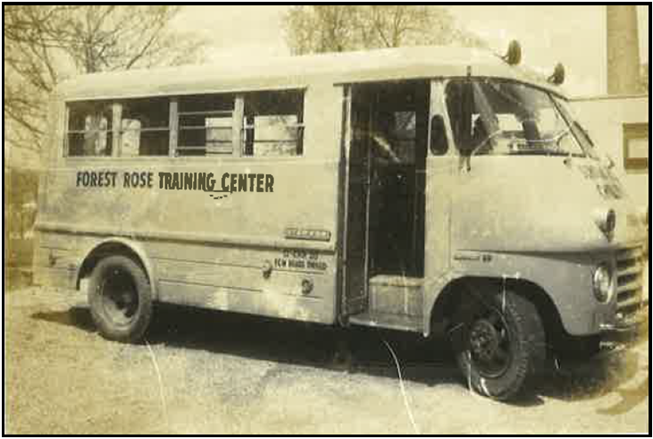 Forest Rose Bus in the 1960s
