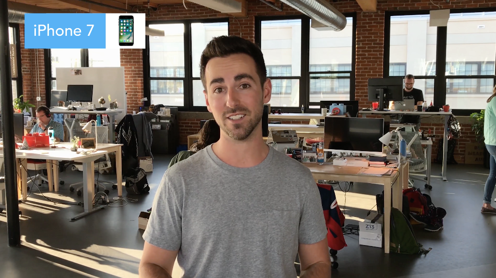 iPhone Tip! - *There's an excellent break down of shooting video with an iPhone by wistia.com. They do a great job of walking you through the steps you need to follow to be successful with your videos.