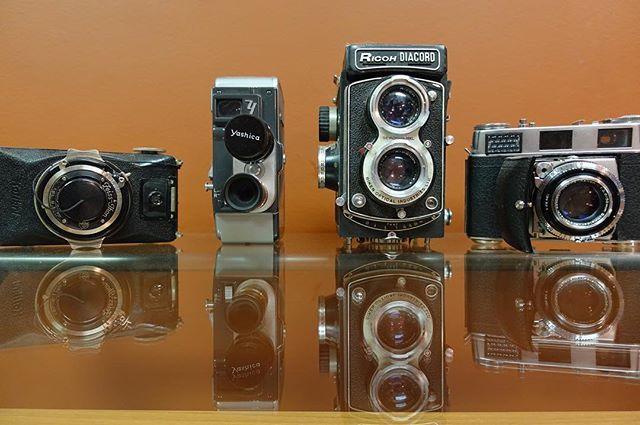 Old cameras! #cameras #friday #film #video