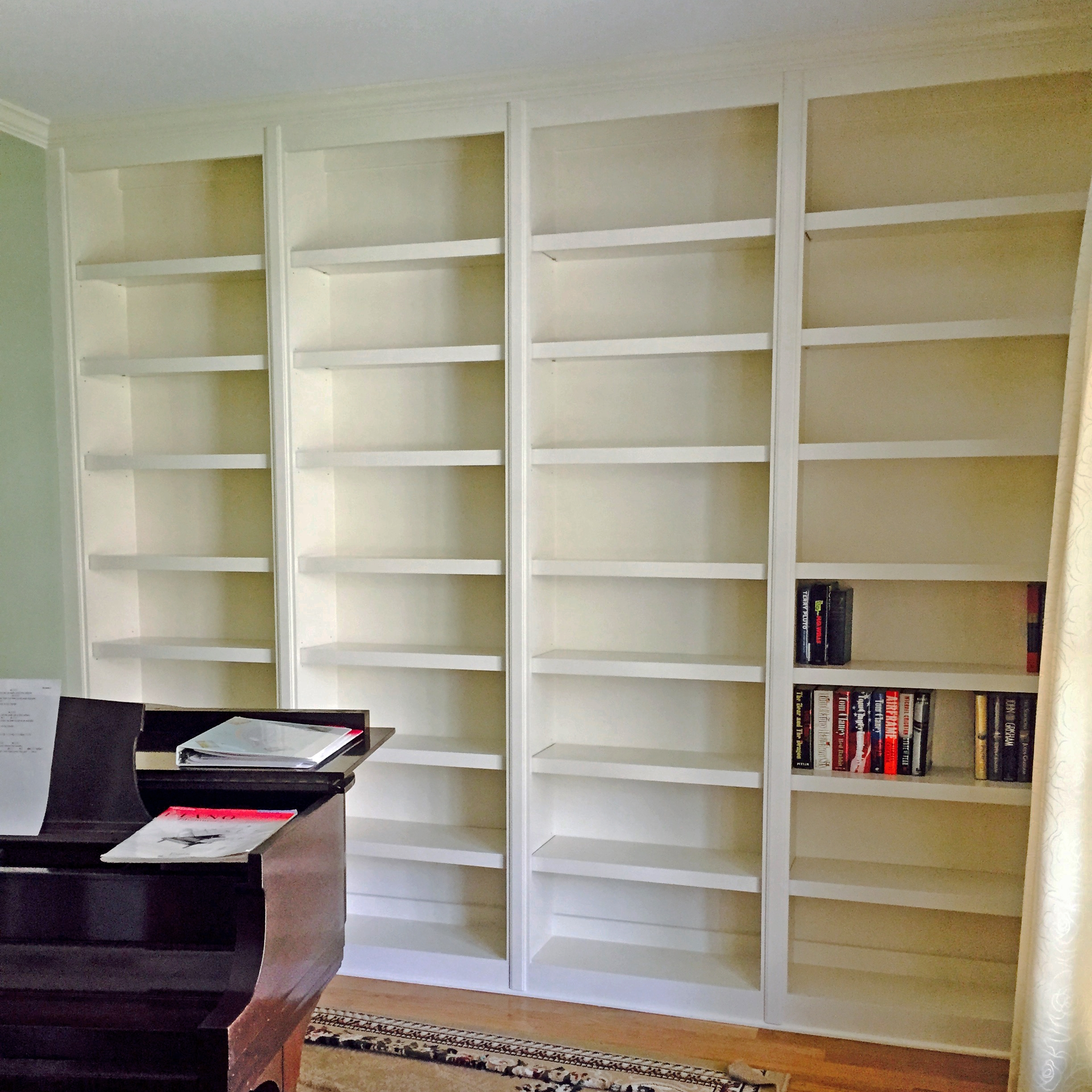 Custom Color Bookcase
