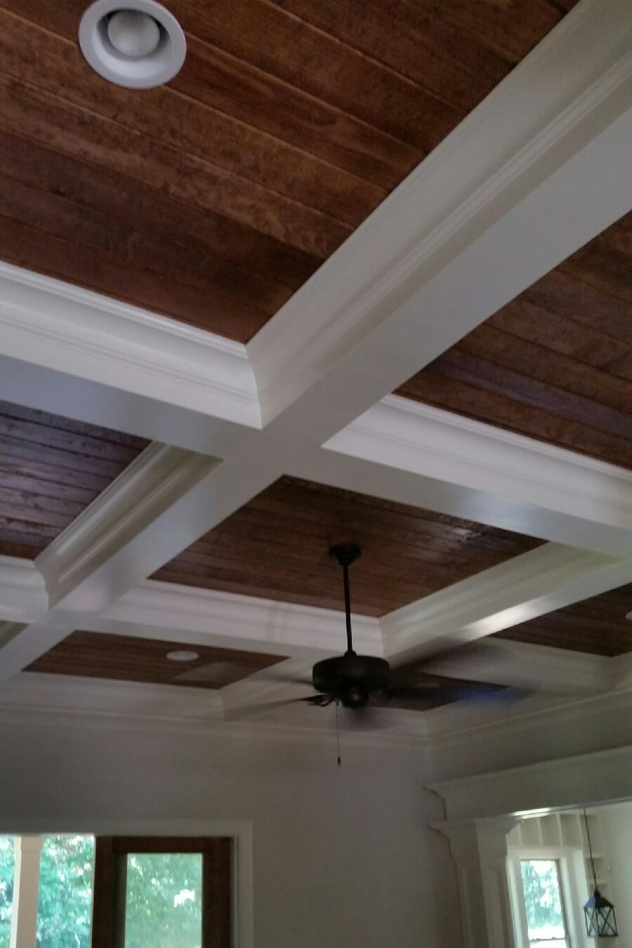Tic-Tac-Toe Coffered Ceiling