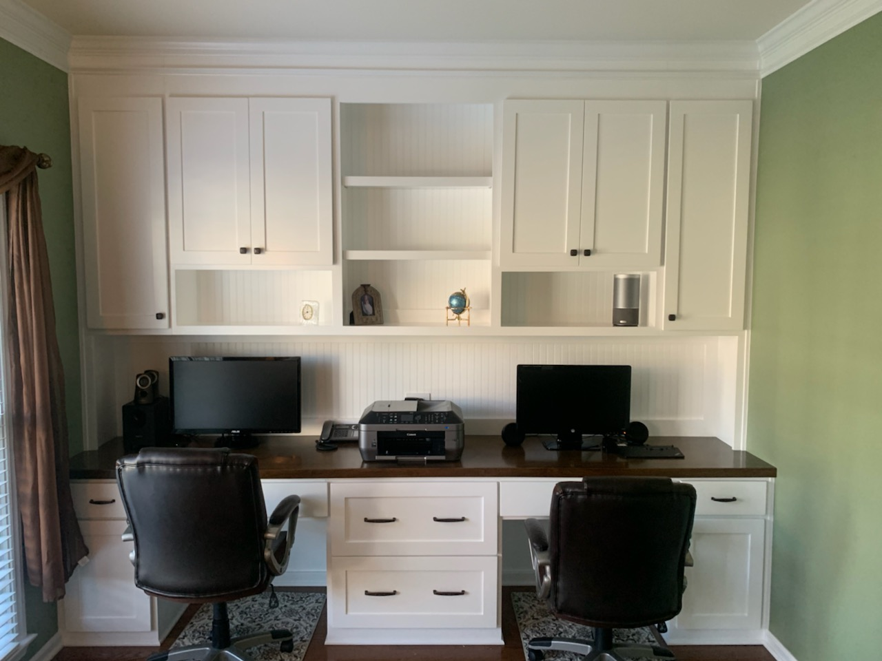 Young Desk Stain Top Beadboard 5 JPG