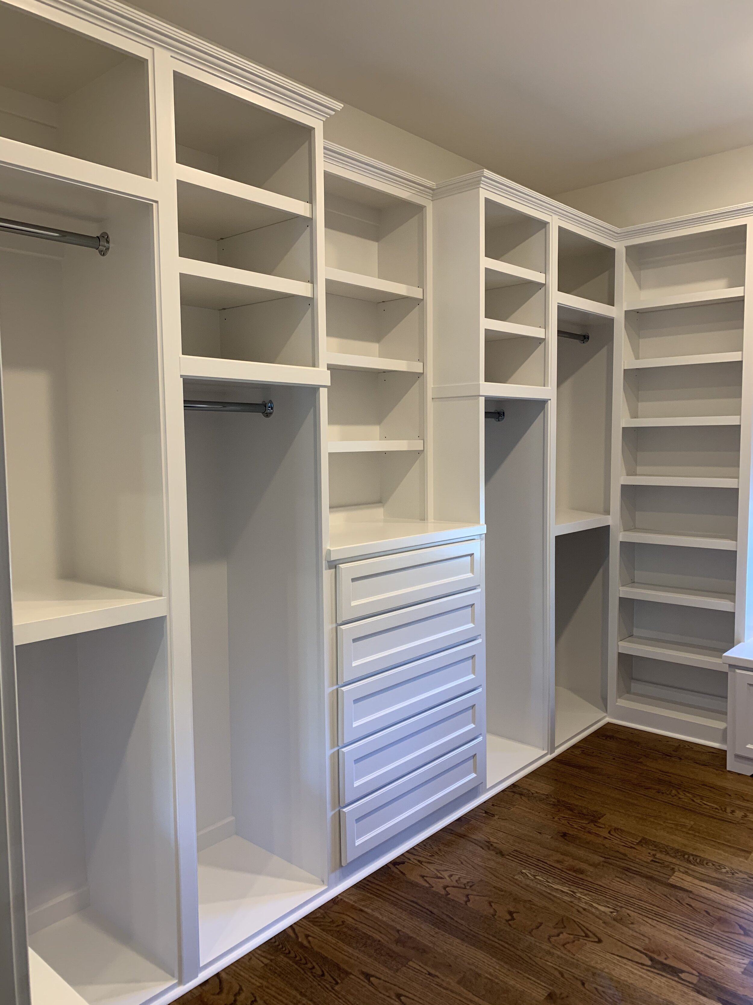 Custom Closets Raleigh Durham Chapel Hill Wake Forest Woodmaster Custom Cabinets Custom Cabinets