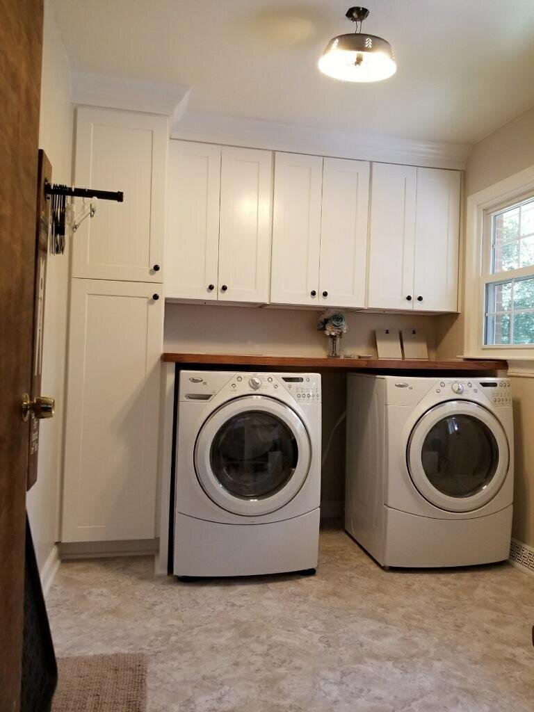 - Laundry Rooms — Woodmaster Custom Cabinets - Custom Cabinets