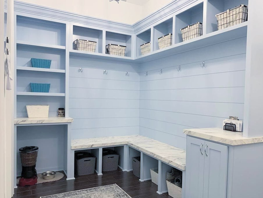Custom Mudroom Cabinets Cost