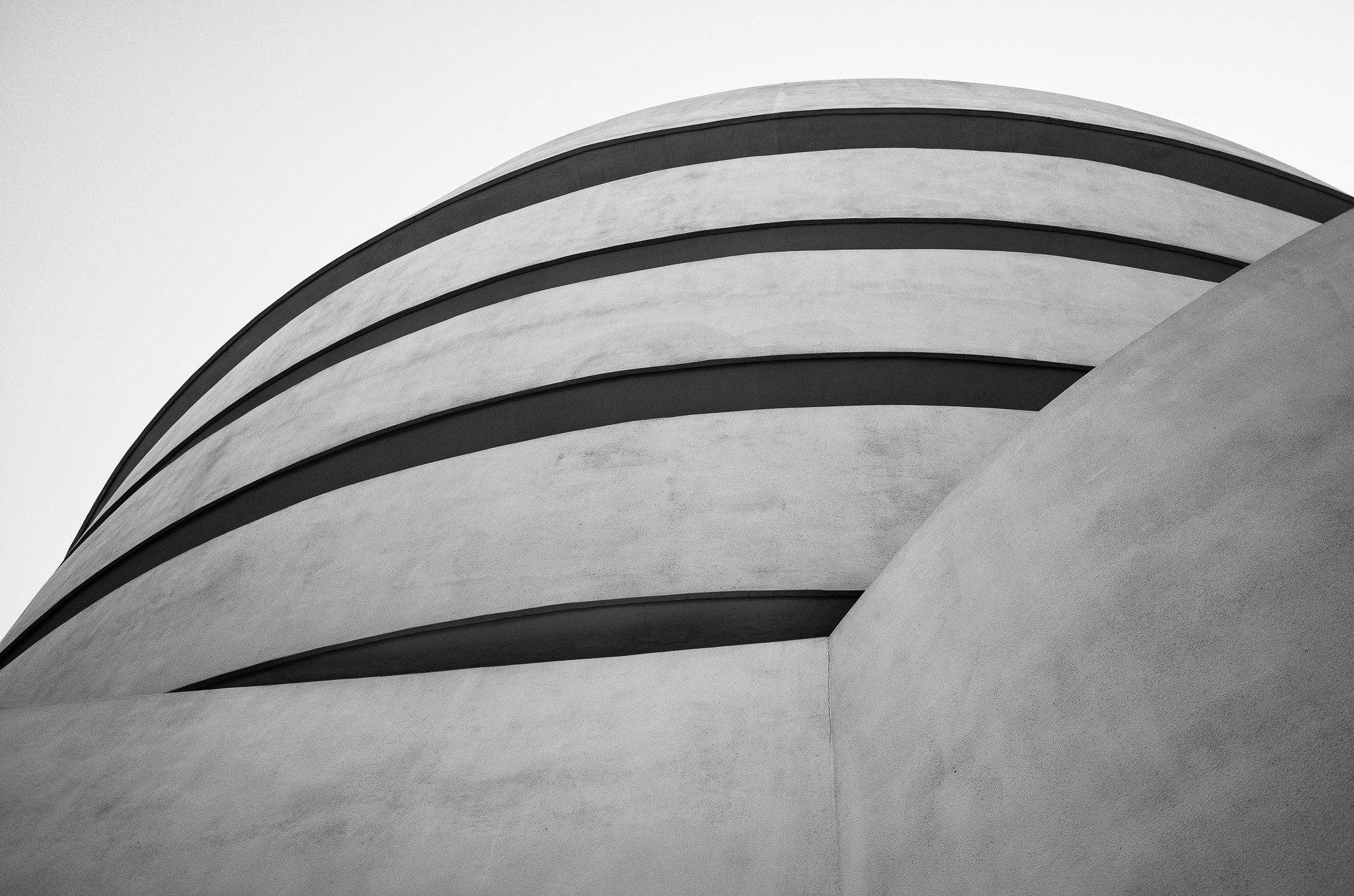 Near the Entrance to the Guggenheim