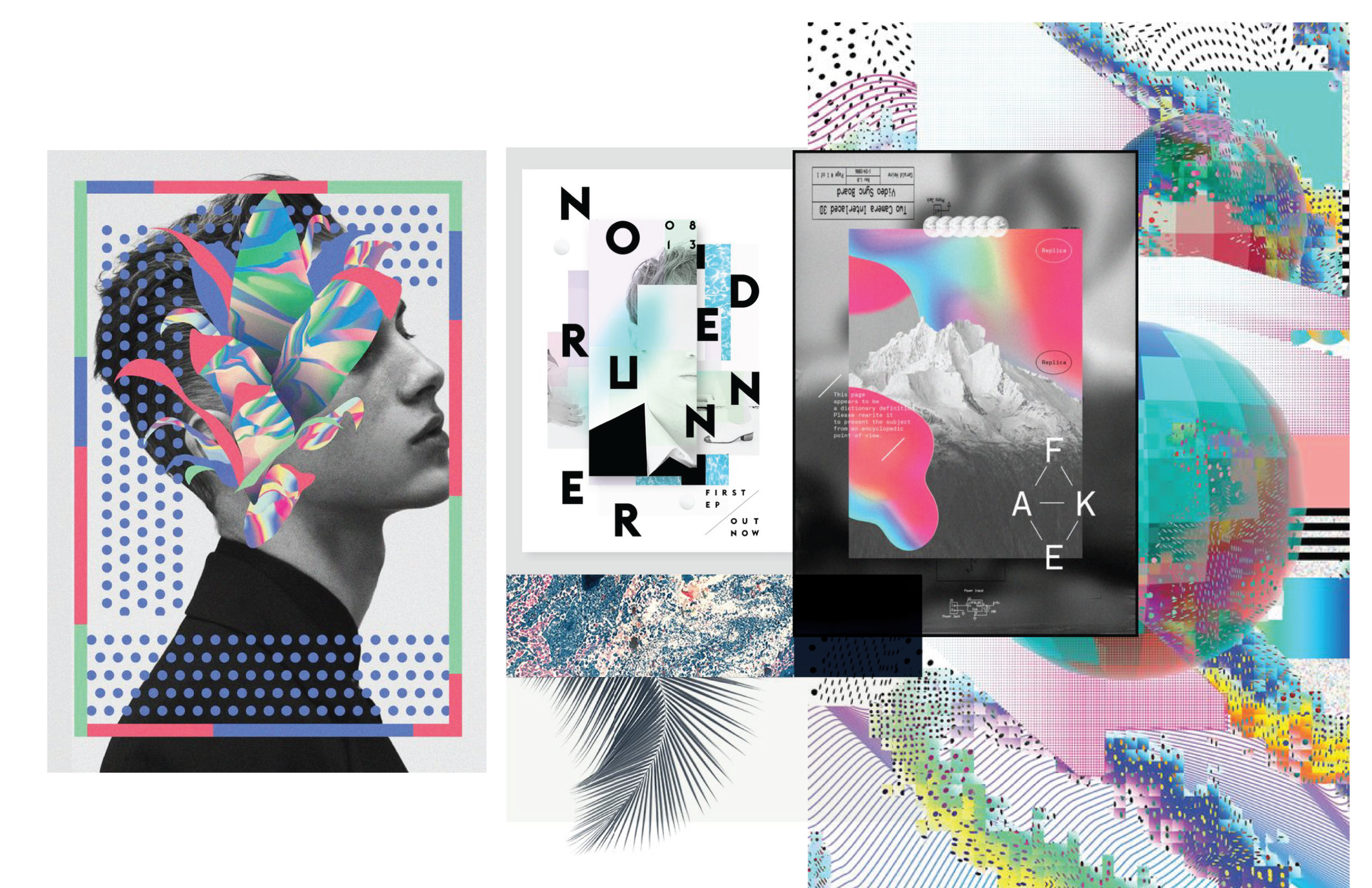 Limited Edition design inspiration boards
