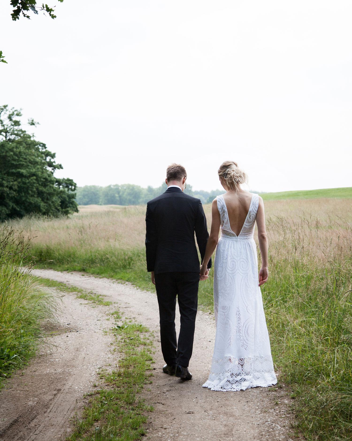 Silke Bonde wedding