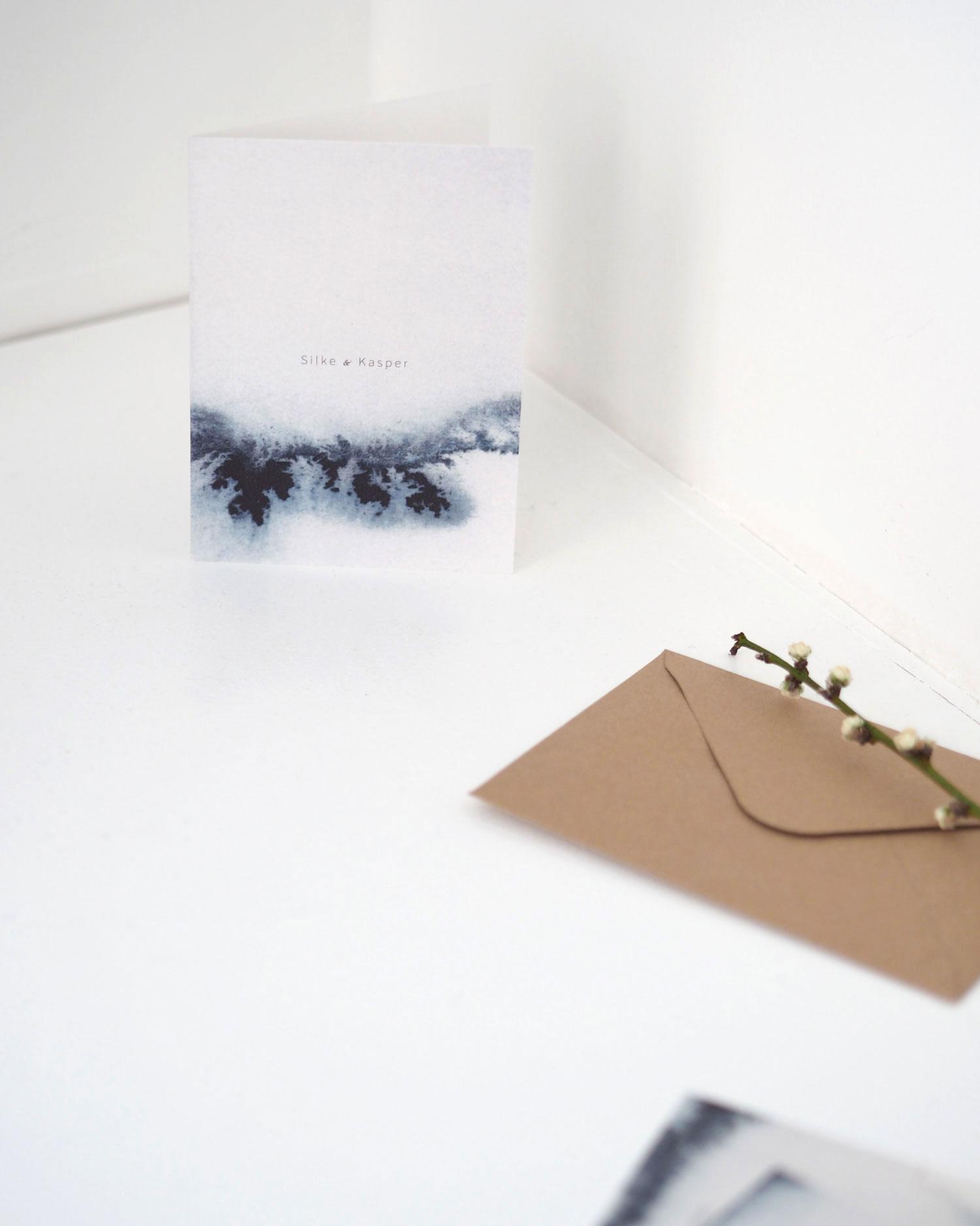 Silke Bonde wedding invitations