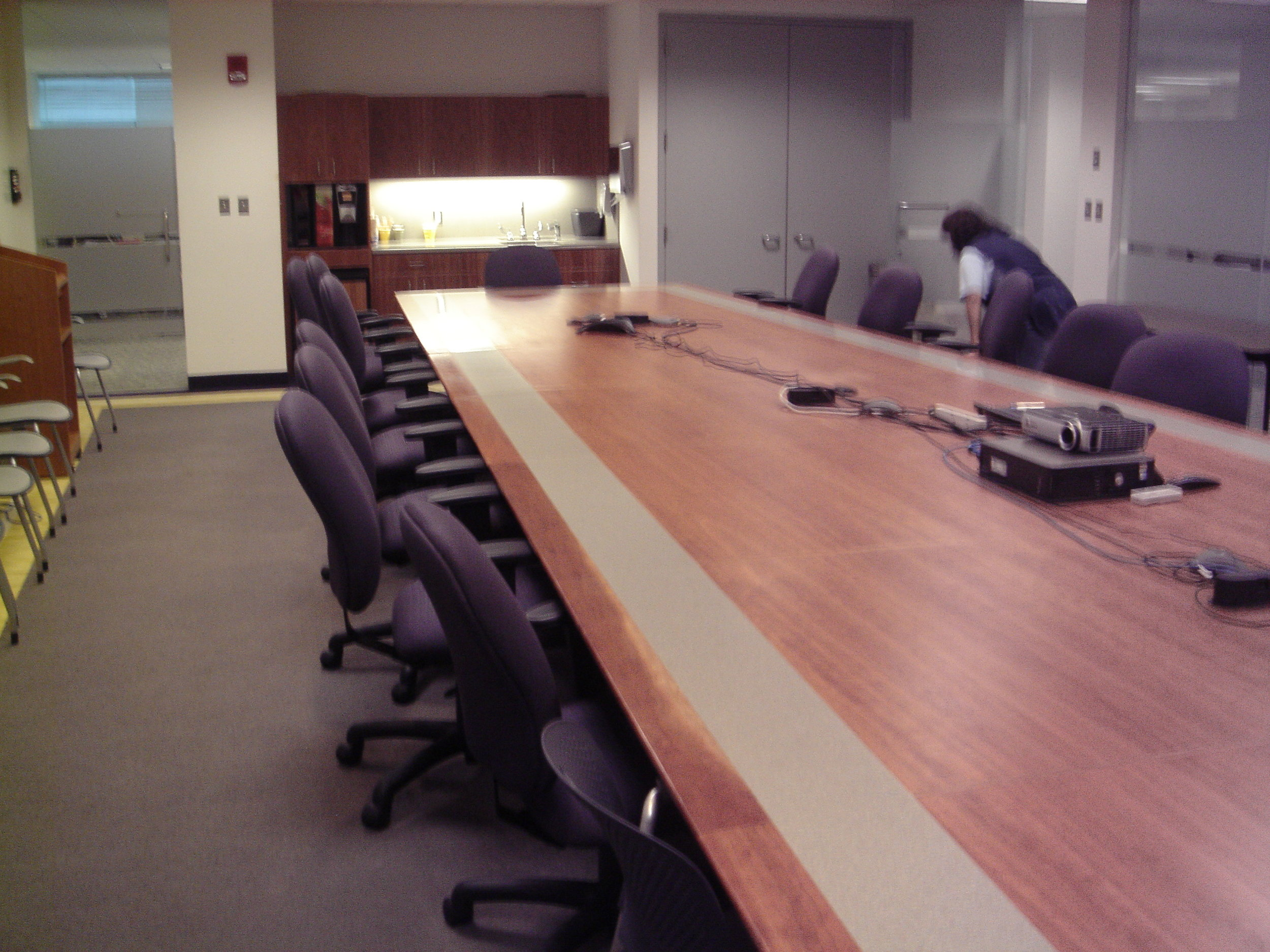 The BMCHP Board Room