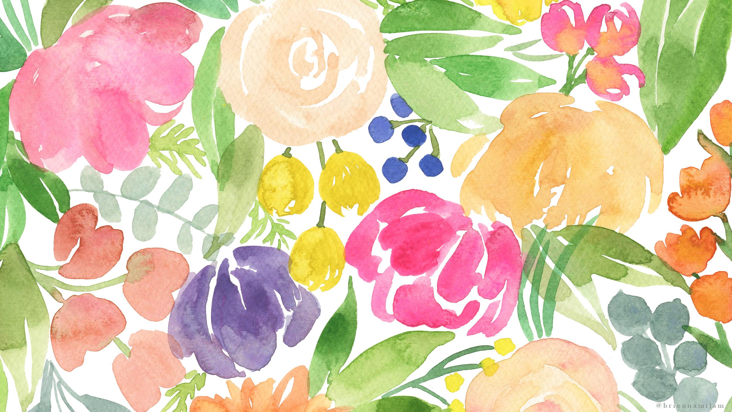 Floral Pattern -