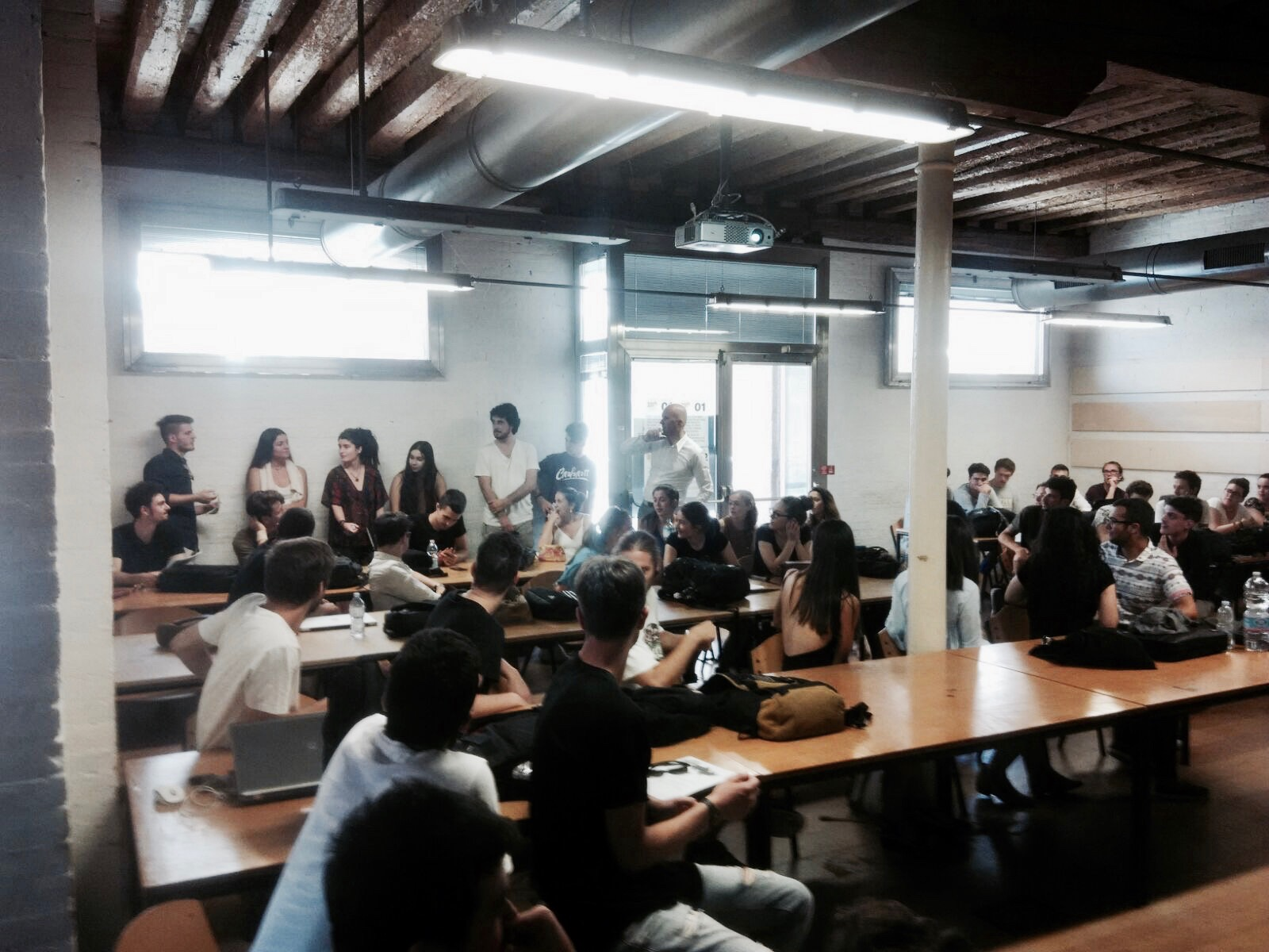 """Maarten:  """" 70 Students chose the class of VMX Architects! They are mostly from Italy, then Spain, South Africa and Philipenes"""""""