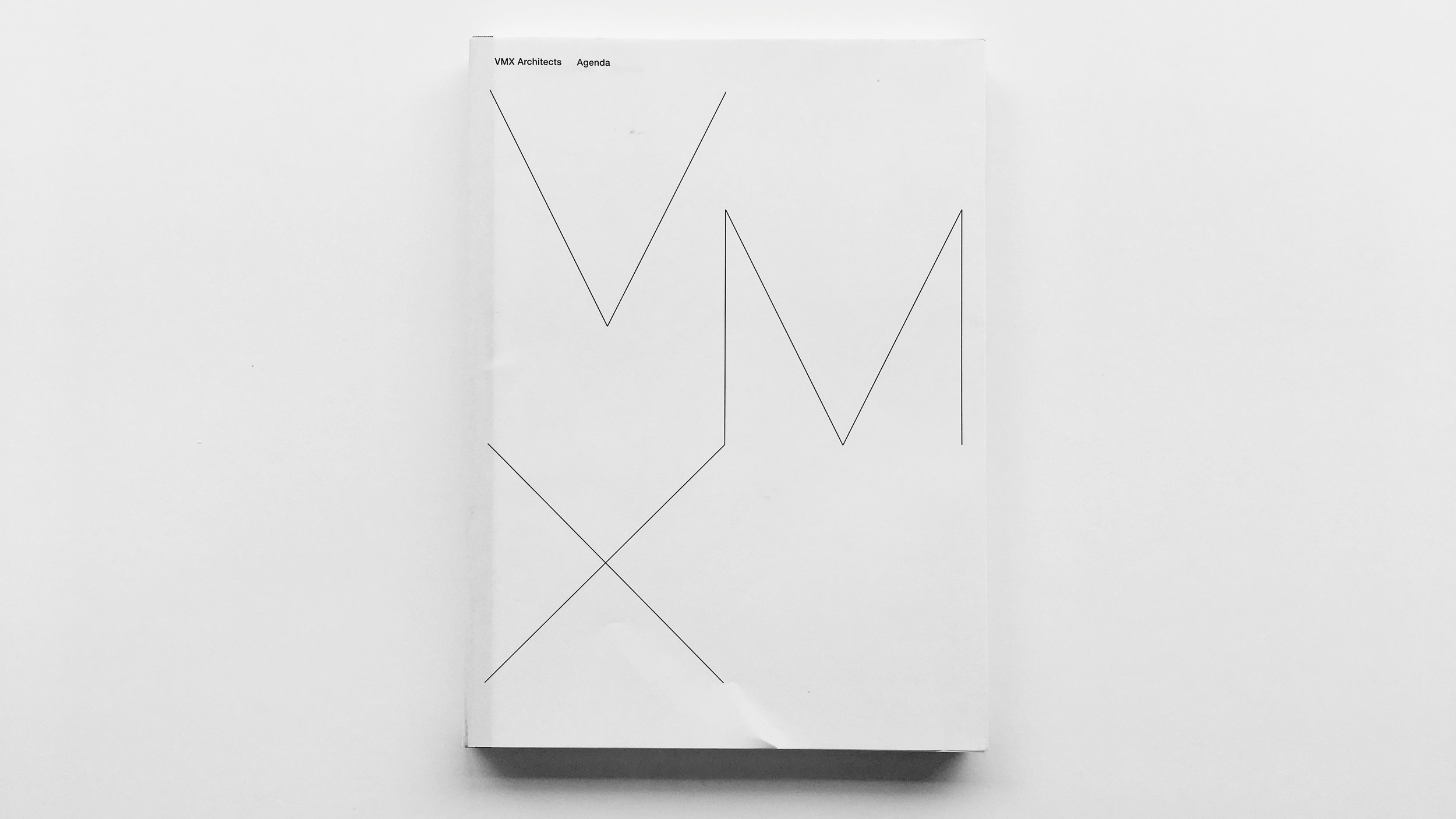 VMX Architects Agenda , Edited by  Olv Klijn , Designed by  Mevis & Van Deursen ,  010 Publishers , 2007, 312 pages