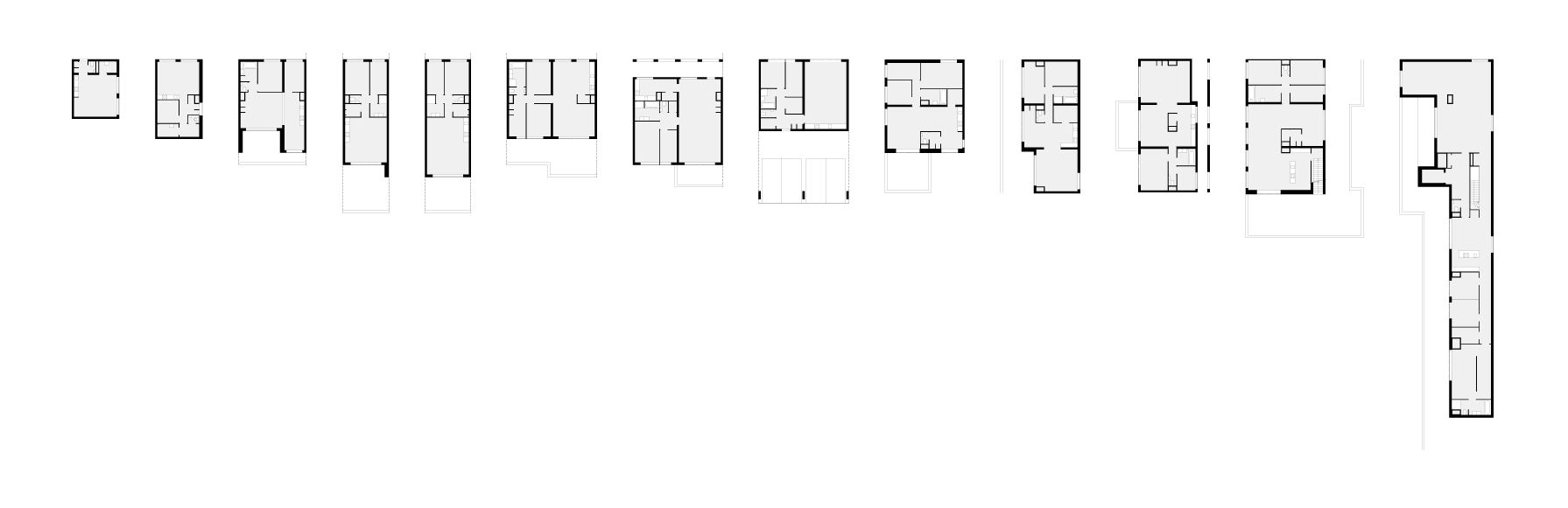 Ithaka offers a big variety of dwellings from 24m2 to 400m2 Penthouse
