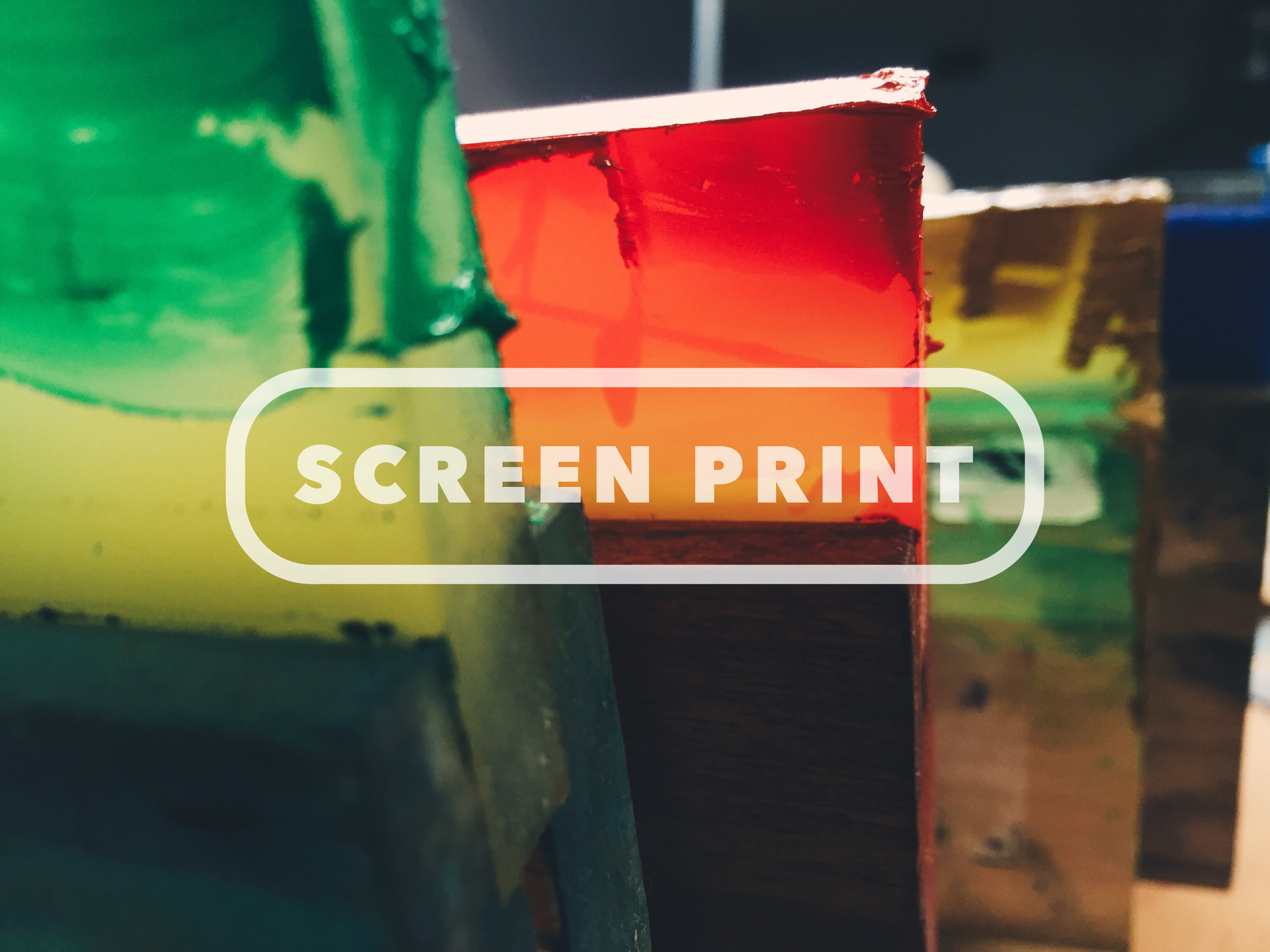 Screen Print (Services)