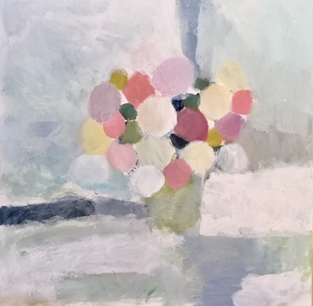 "Bouquet II, 36"" x 36"", Sold"