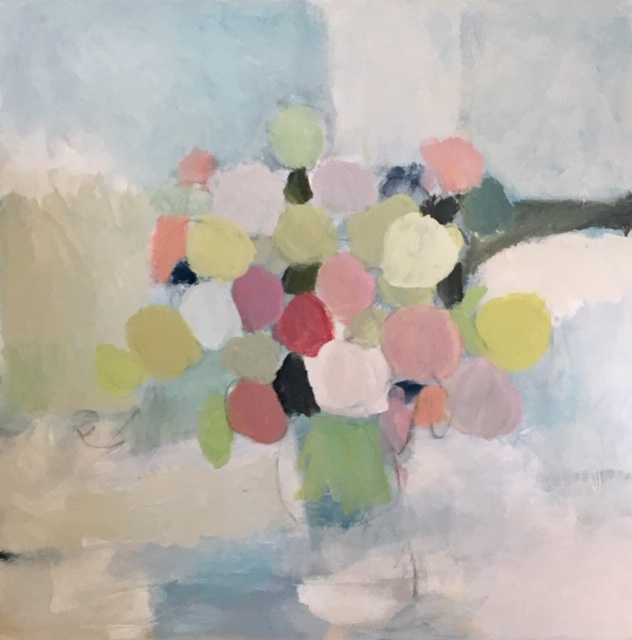 "Bouquet I, 36"" x 36"", Available"