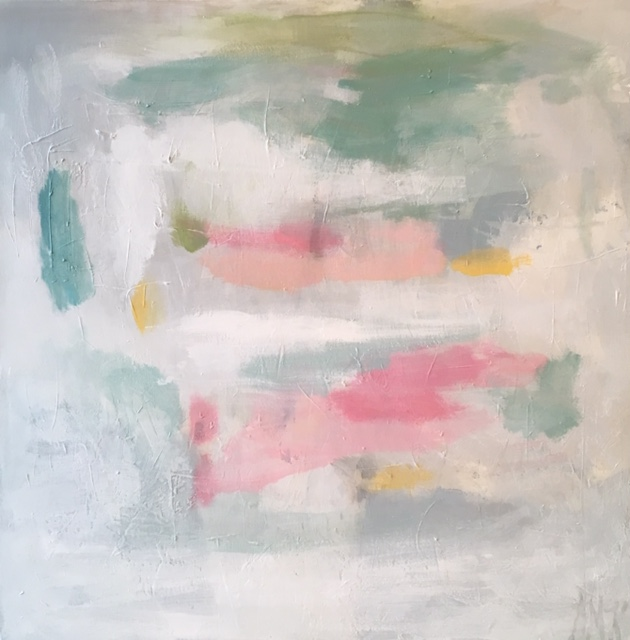 "Sweet Surrender, 36"" x 36"", Donated"