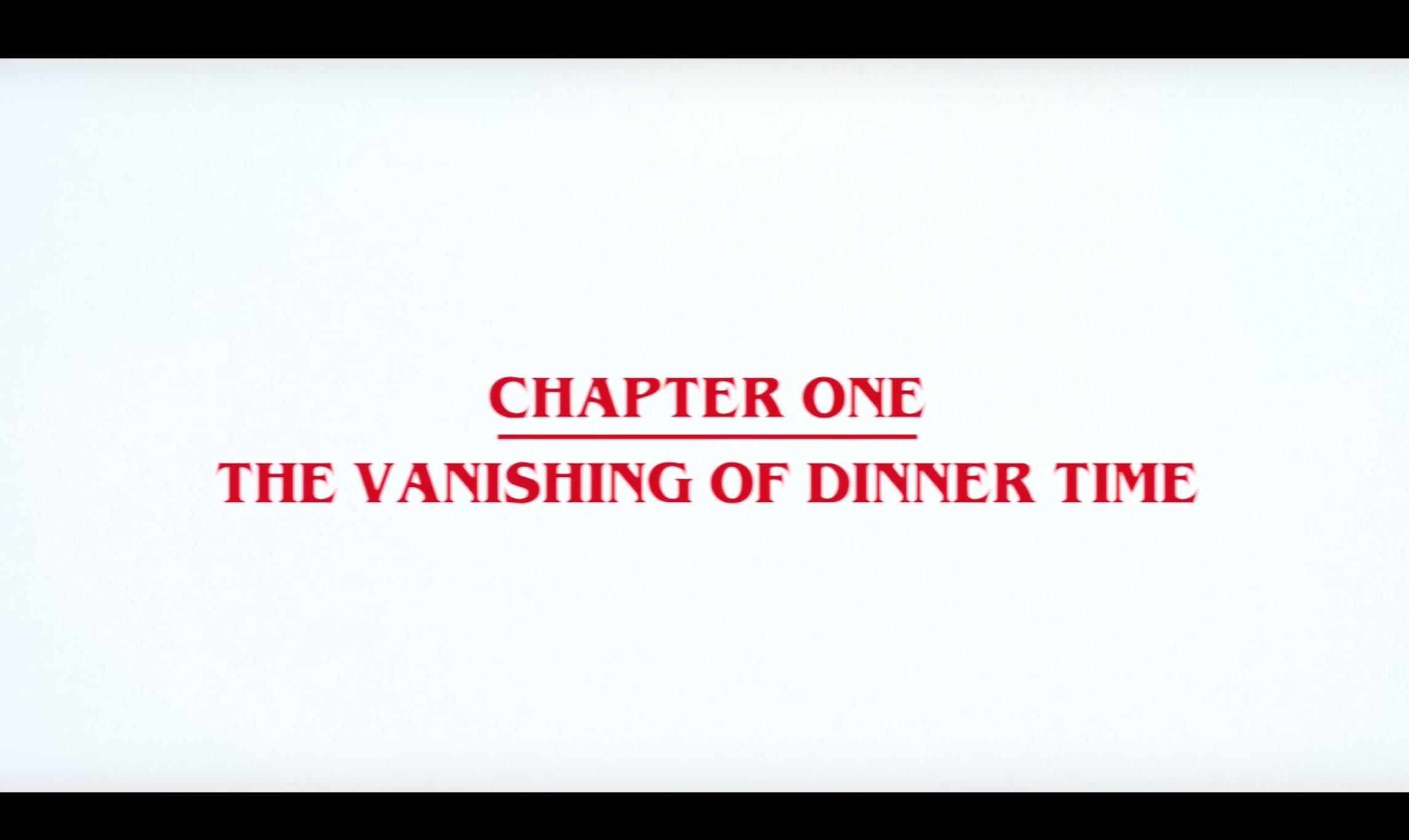 """""""THE VANISHING OF DINNER TIME""""  +    REGULAR THINGS"""