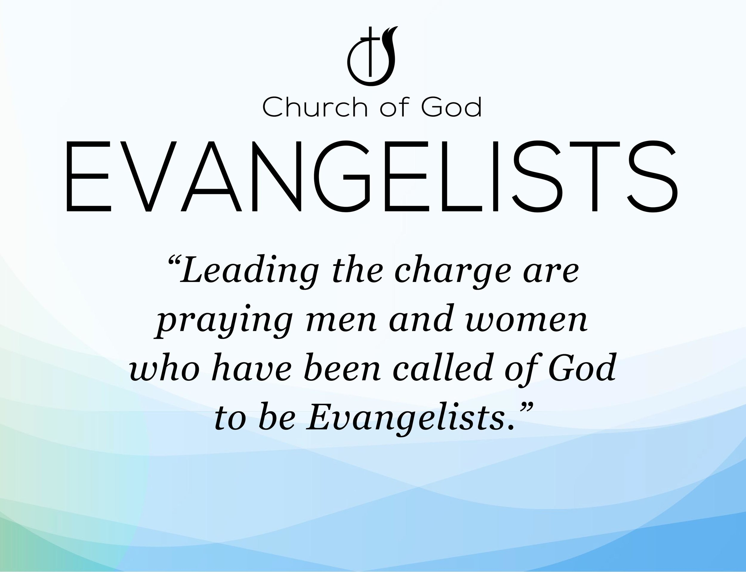 Church of God - EVANGELISTS