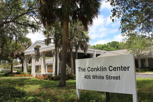 Conklin Center Sign and Building