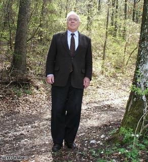 German billionaire Adolf Merckle in Germany on April 26, 2004