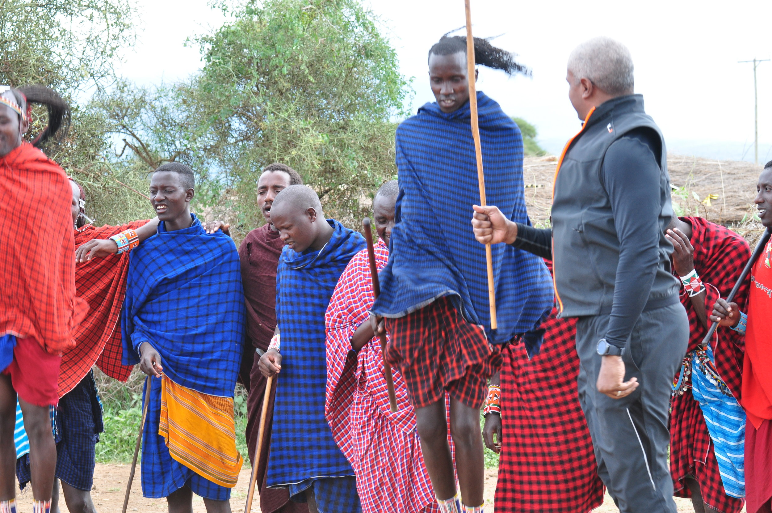 Maasai village, Amboseli, Rift Valley, Kenya