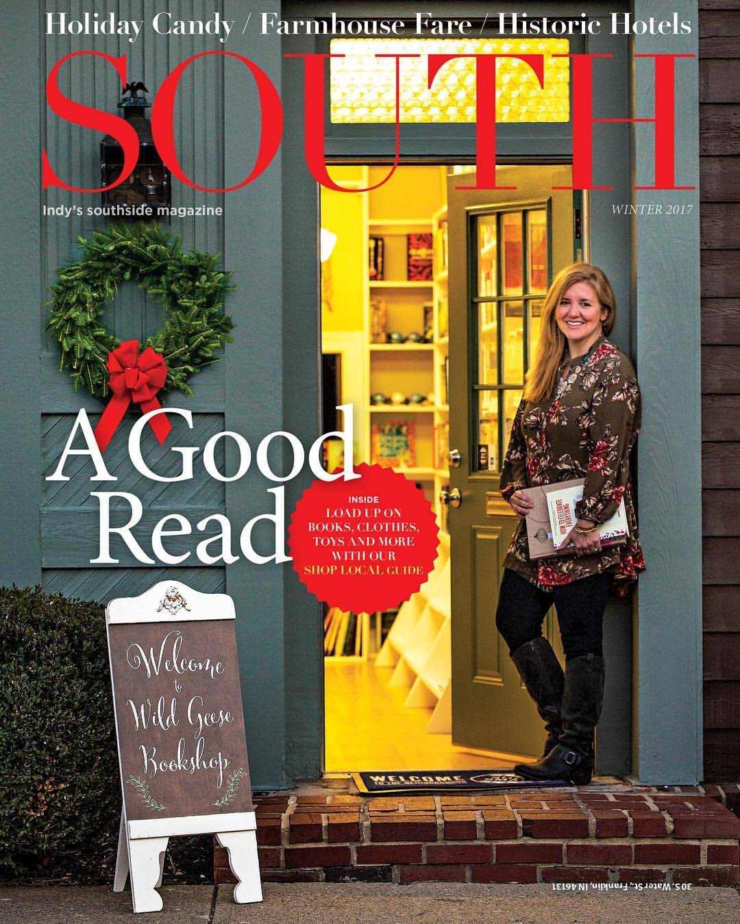 SOUTH MAGAZINE - (Indianapolis)Featured in the 2016 Holiday Shopping Guide.