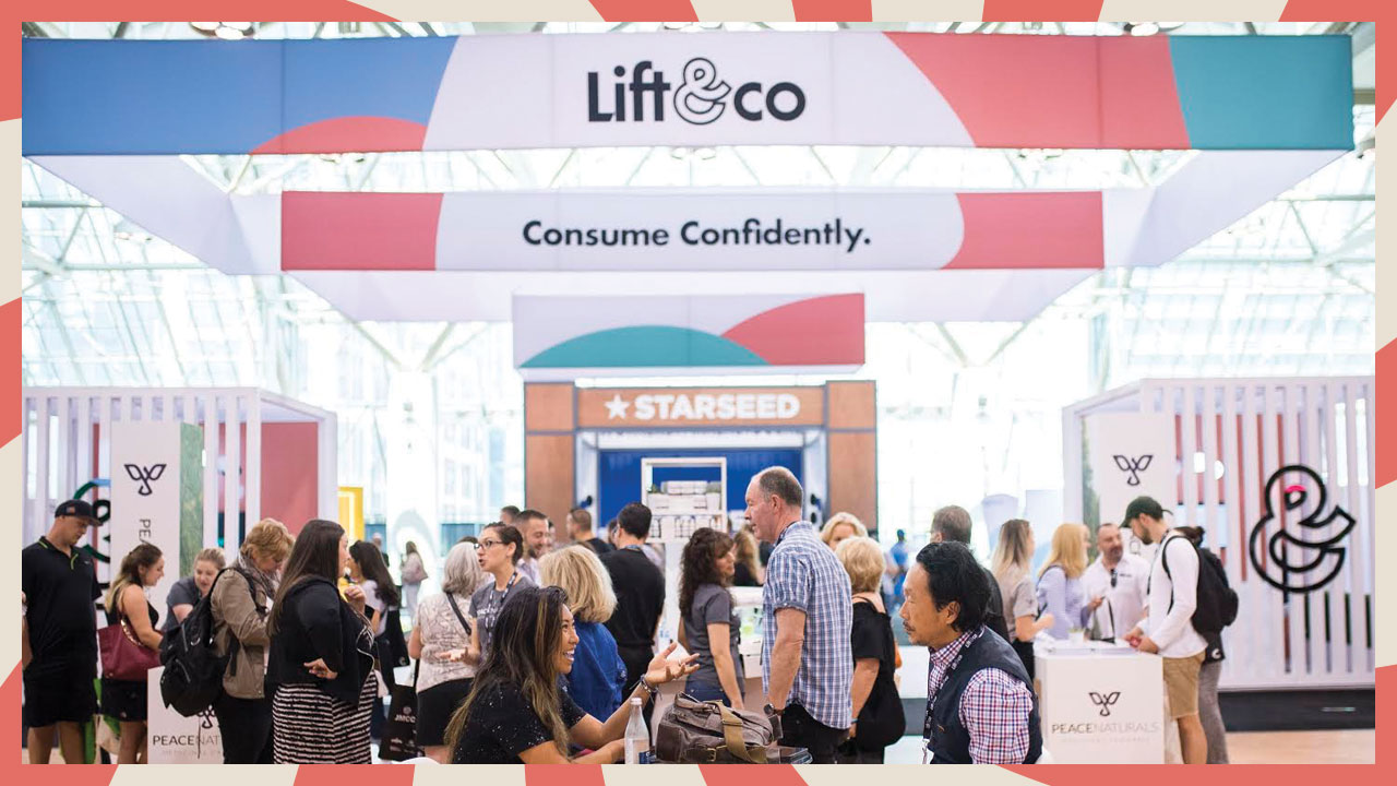 Lift & Co debuted the new brand at the  Lift & Co. Cannabis Expo , the largest of its kind in Canada.