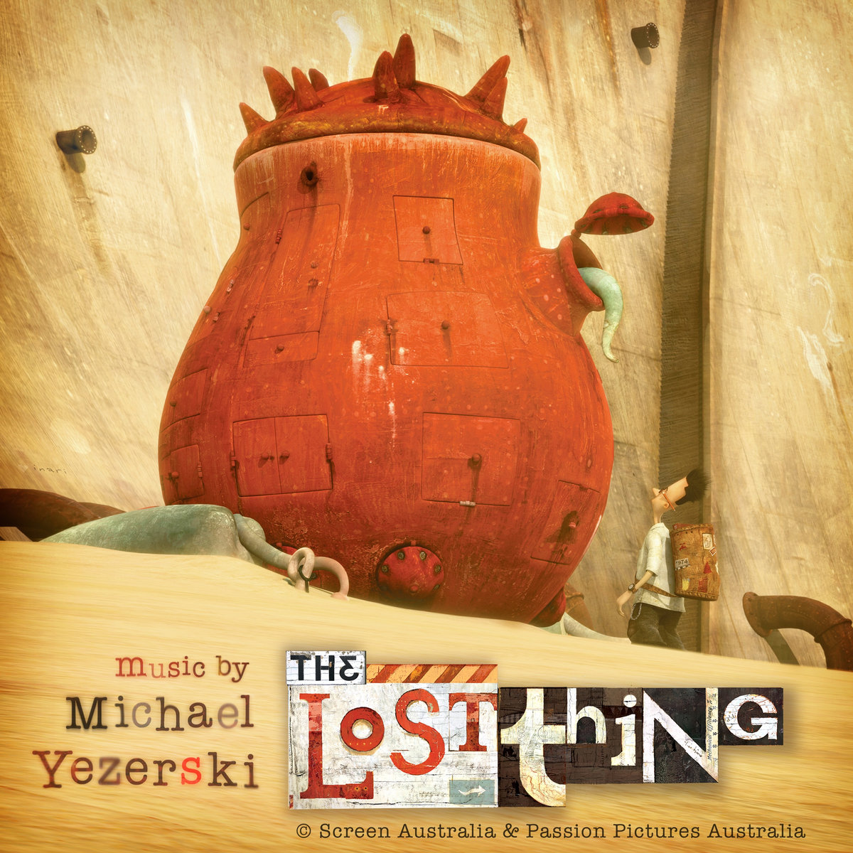 The Lost Thing - Winner, Academy Award for Best Animated Short. Directors, Shaun Tan and Andrew Ruhemann. Producer, Sophie Byrne. Click on the picture for more info.