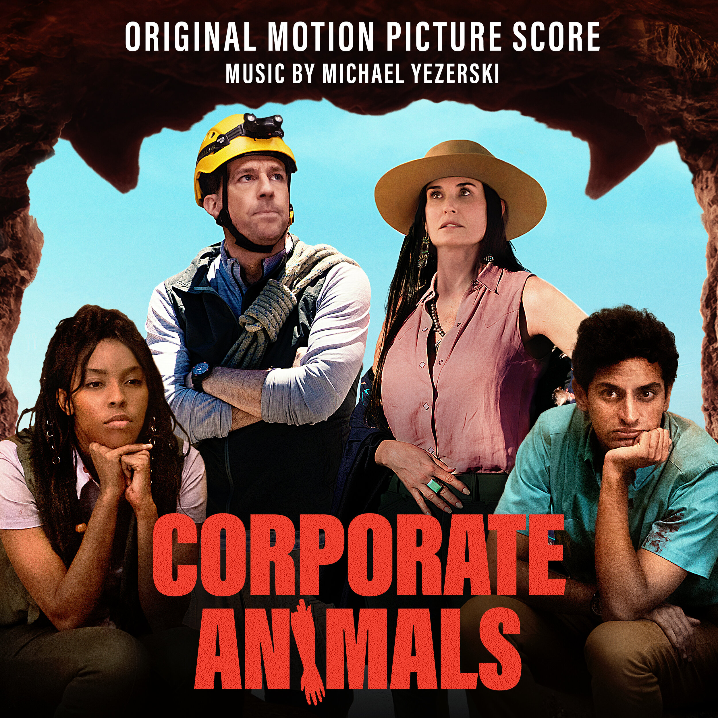 Snoot Music have released Michael Yezerski's score to Corporate Animals. Directed by Patrick Brice and produced by Ed Helms, Mike Falbo, Keith Calder and Jess Calder, the film premiered at Sundance in 2019.