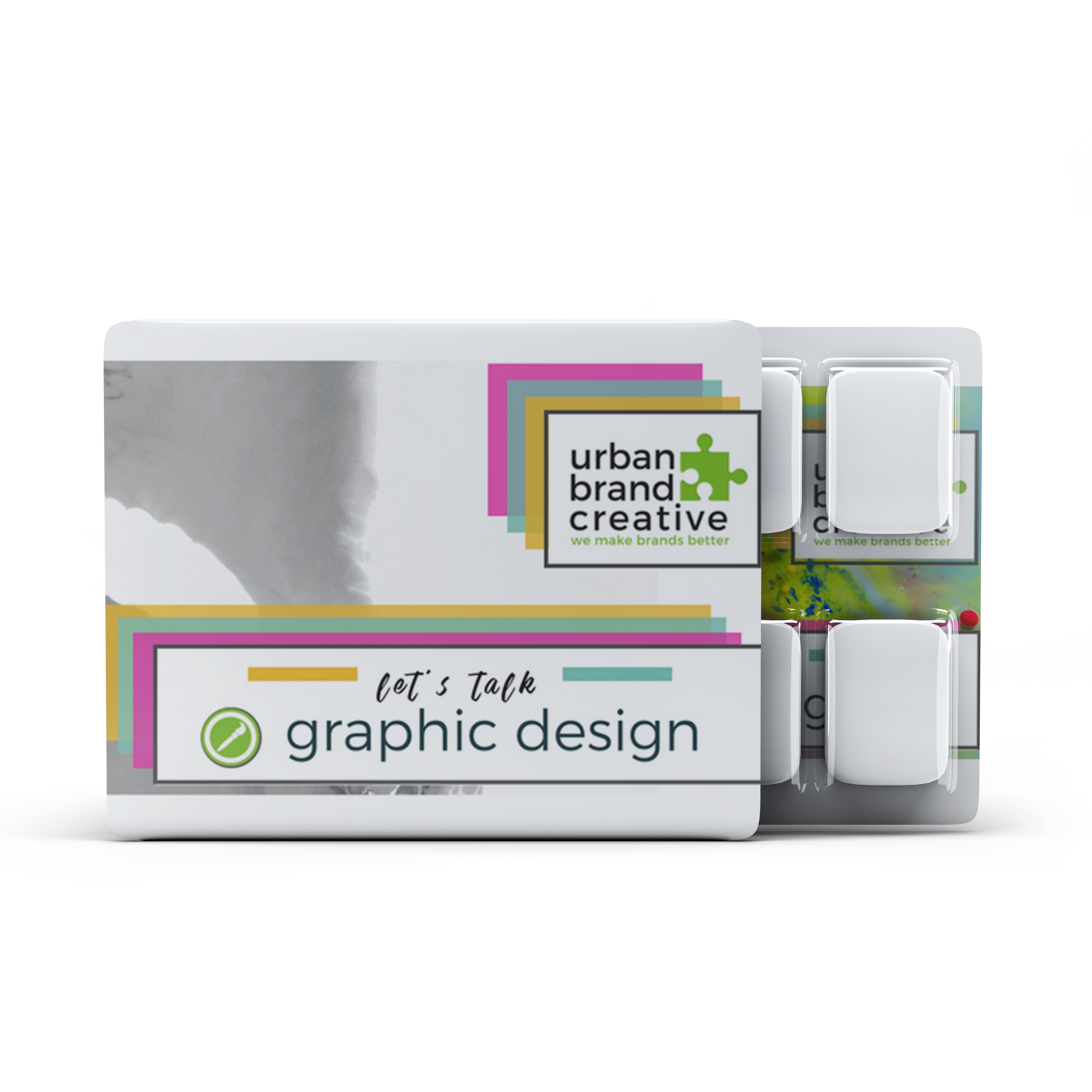 lets talk    Graphic Design    view our work