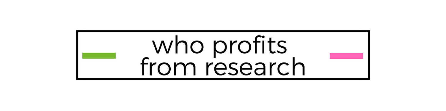 who profits from research.png