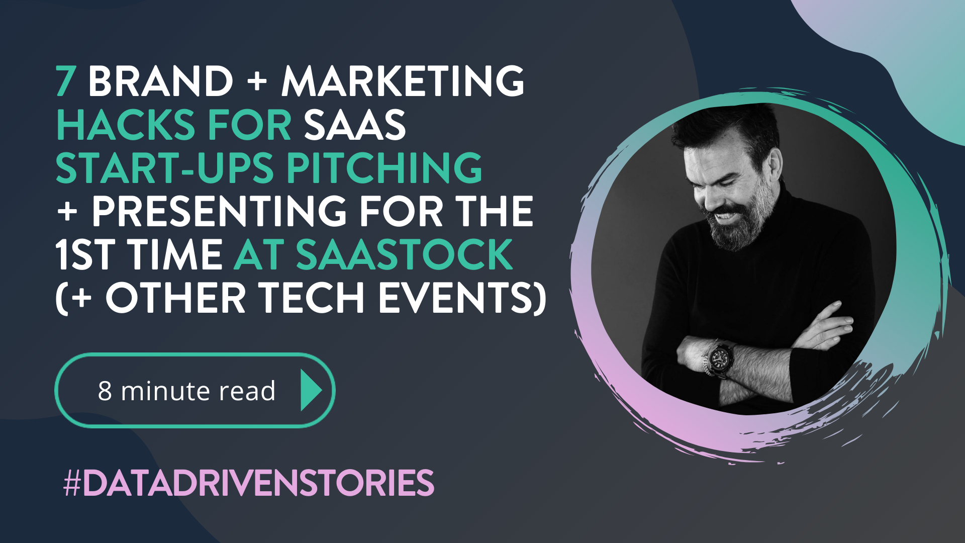 Read  our latest blog  on the brand + marketing challenges (and rewards), facing 'boot strapped' saas start-up pitching at   SaaStock   for the 1st time.  Enjoy!