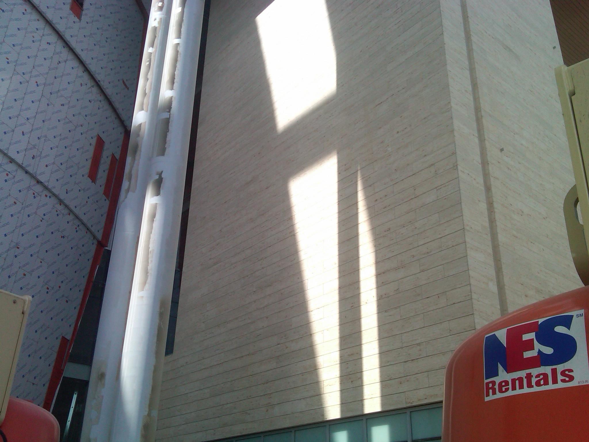 Music City Center - Jura Beige close.JPG