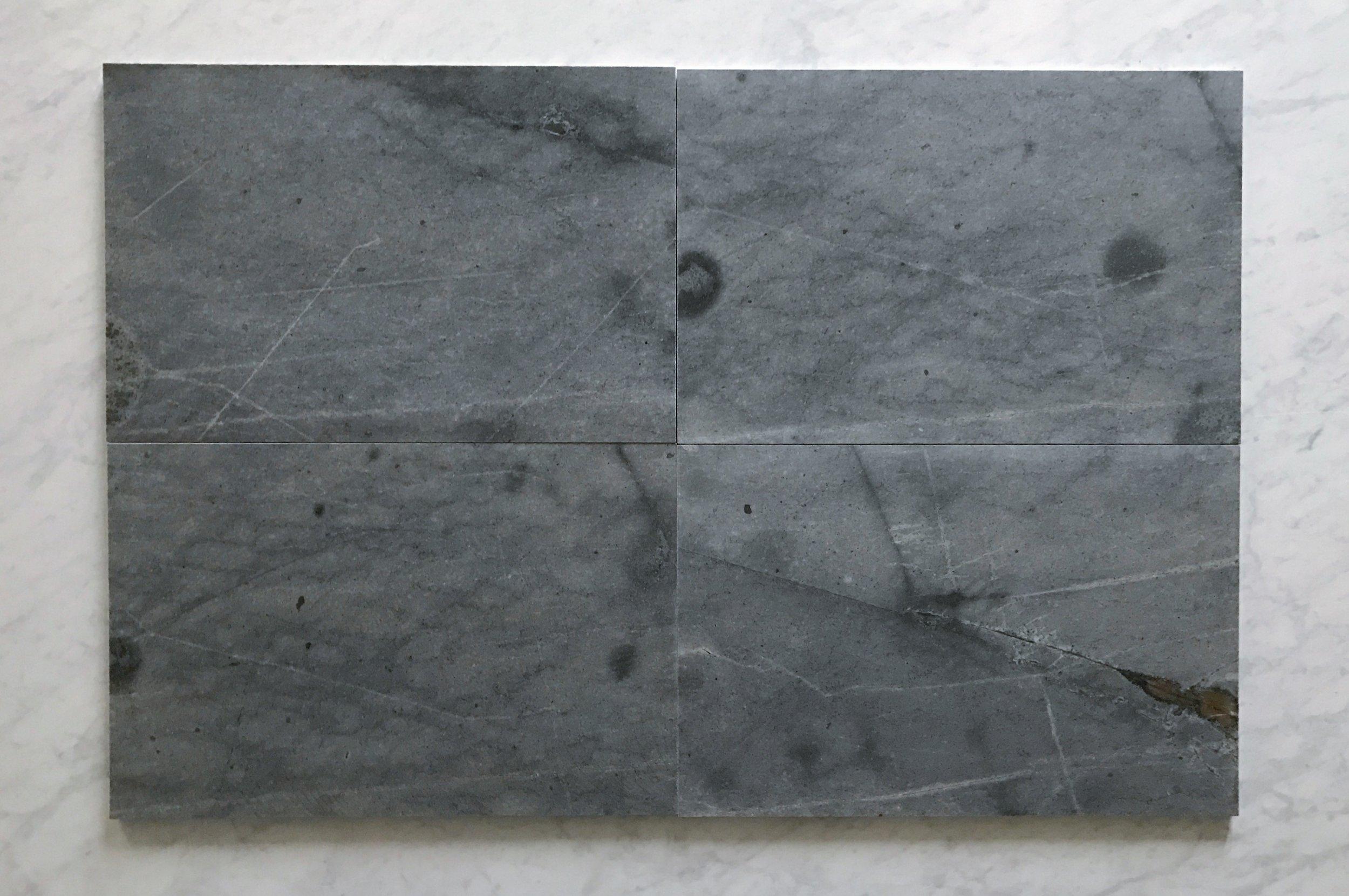 Blue Porphyry Granite 16x24 Polished